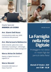 LOCANDINA -La Famiglia nella rete Digitale 2